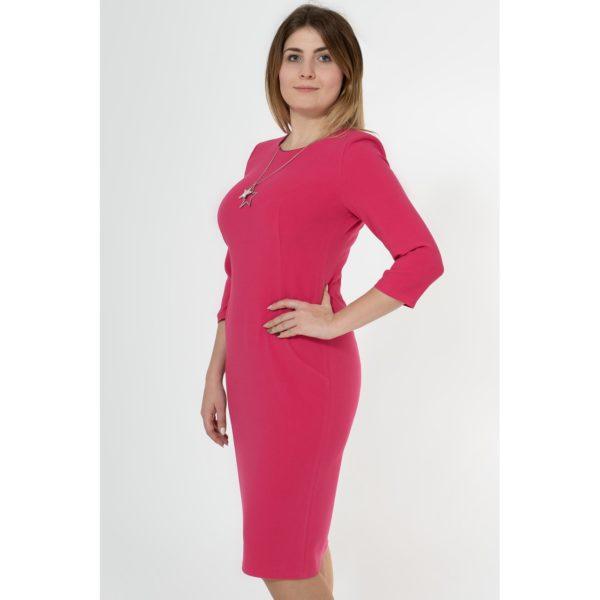Sukienka amarantowa