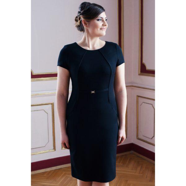 Sukienka wizytowa czarna