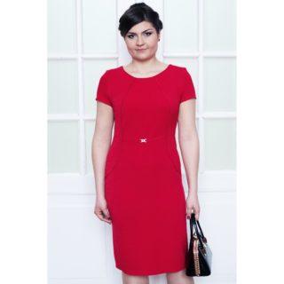 Sukienka wizytowa czerwona